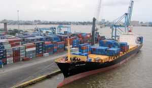 The Nigerian economy revolves around Lagos ports