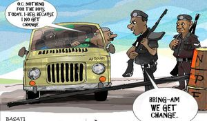 Men In Black: Bribery and Nigerian Police