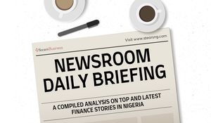 DB: CBN and forex; MTN's profit increased; Workstation's dollar rent