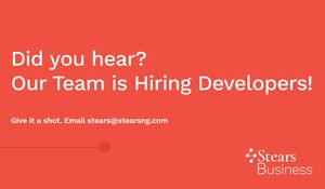 Stears is Hiring a Full-Stack Developer
