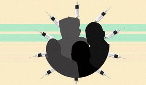 Two stories on the pandemic: The death of African leaders and vaccines
