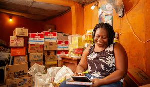 Using e-commerce to improve margins for informal retail shops