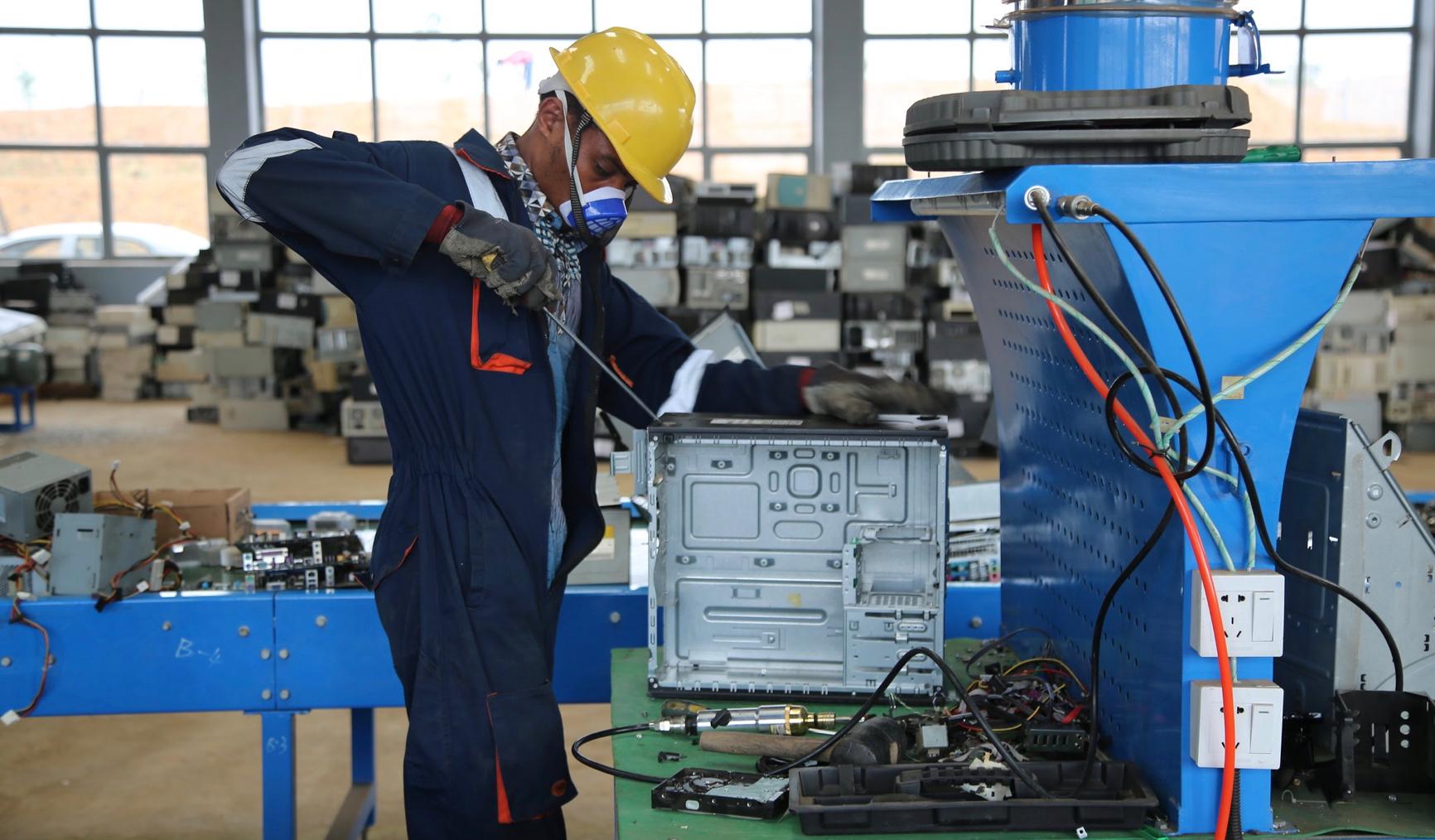 Circular Economy: Tackling electronic waste in Nigeria