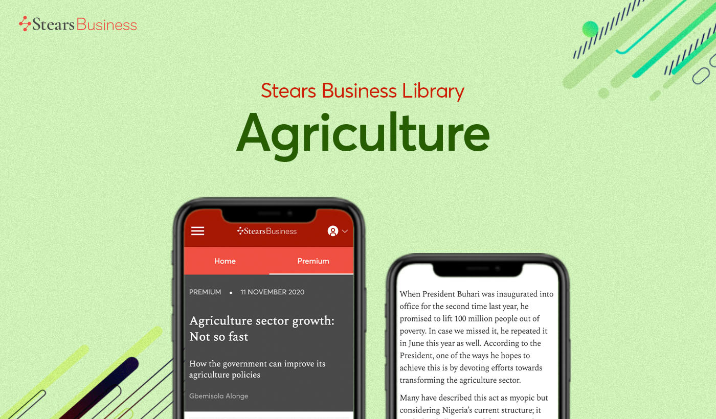 Top agriculture articles on Stears Business