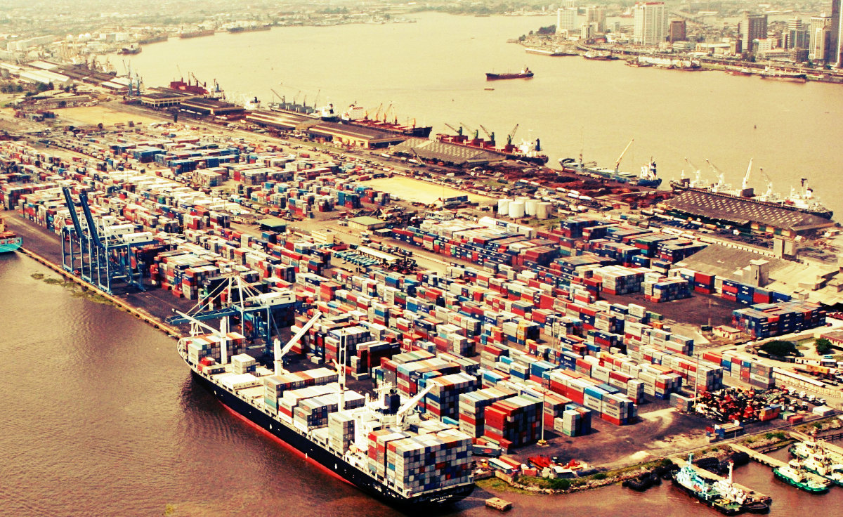 Apapa sea port