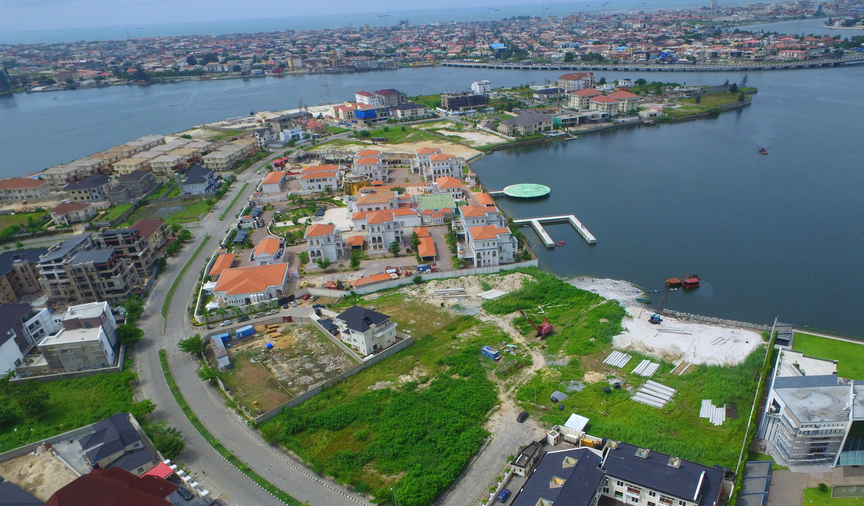 Banana Island Lagos, Nigeria's most exclusive Estate.
