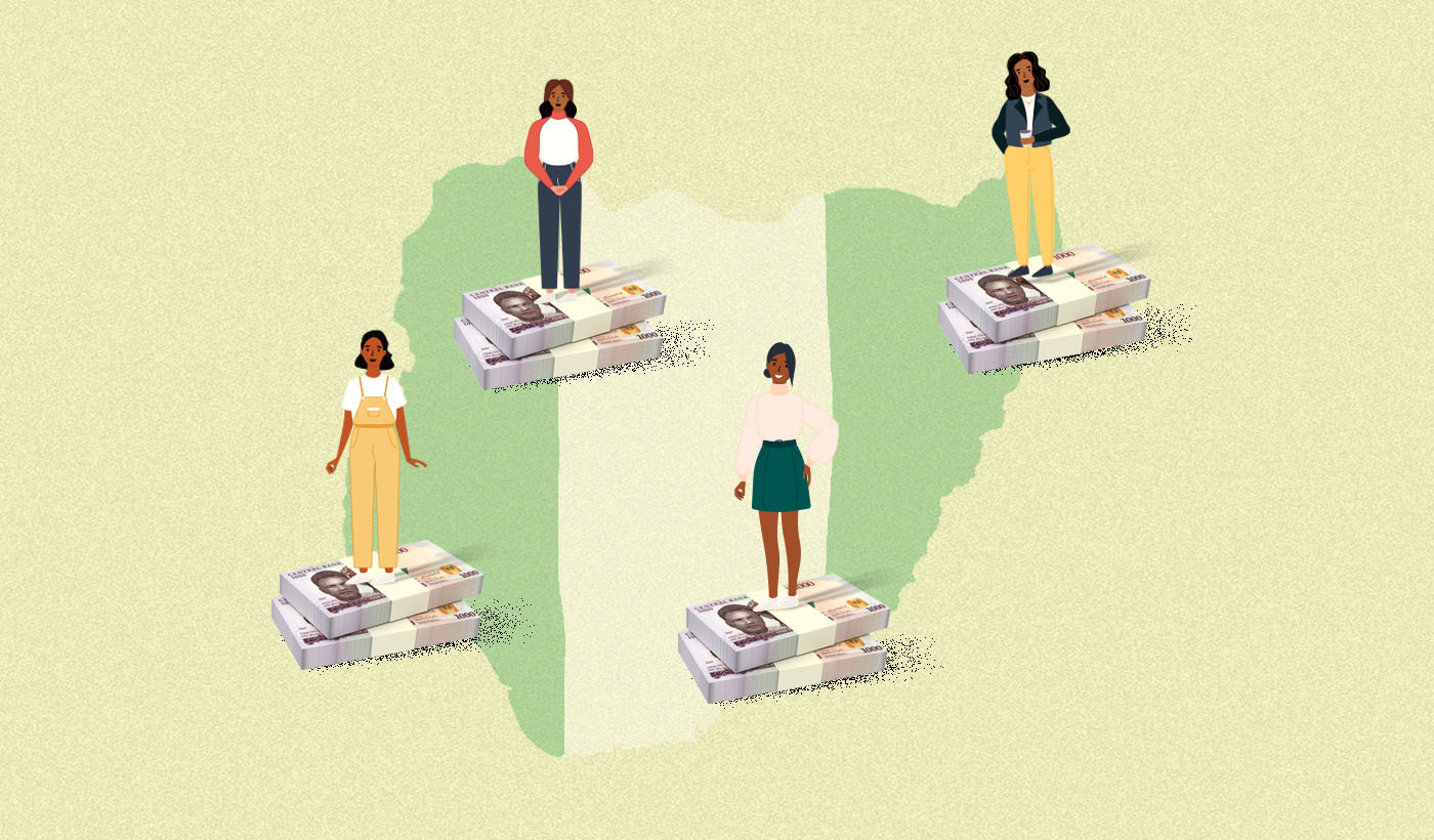 Why is financial inclusion low among Nigerian women?