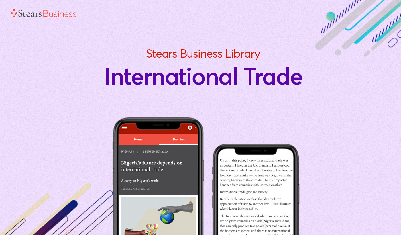 Top trade articles on Stears Business