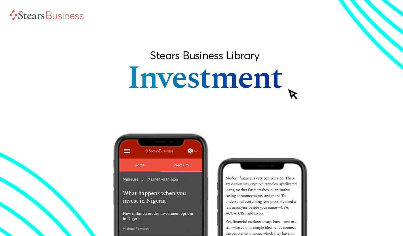 Top investment articles on Stears Business