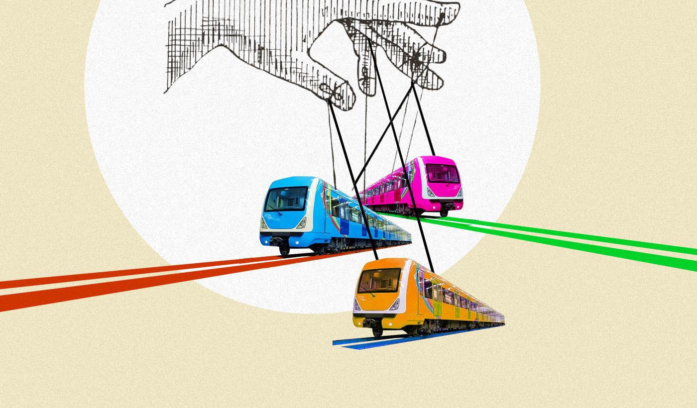 Where is the Lagos light rail?