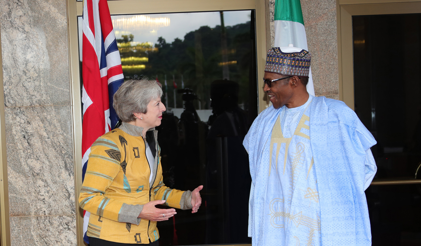 What does Theresa May's visit mean for Nigeria?