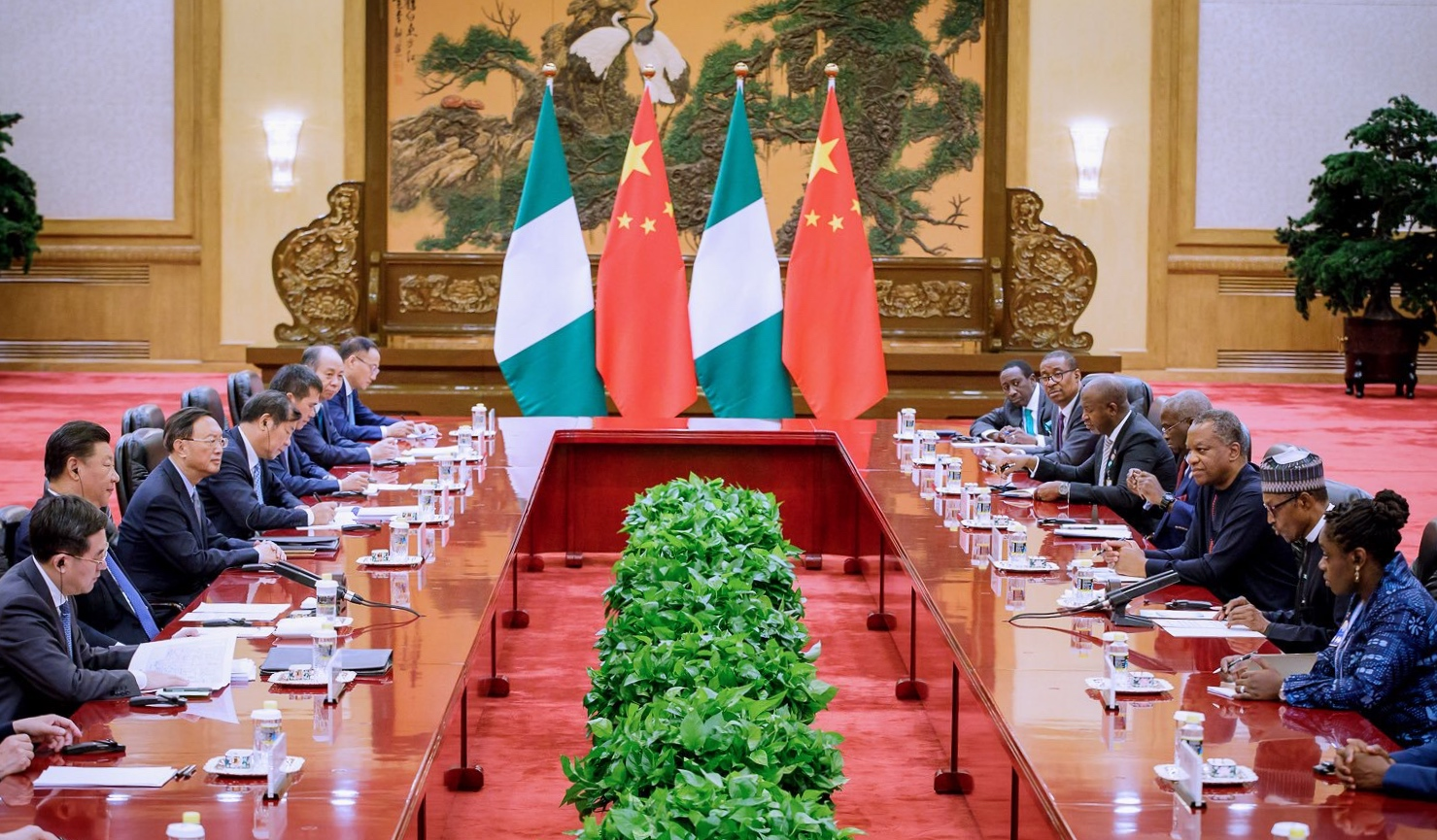 Why is China interested in Nigeria?