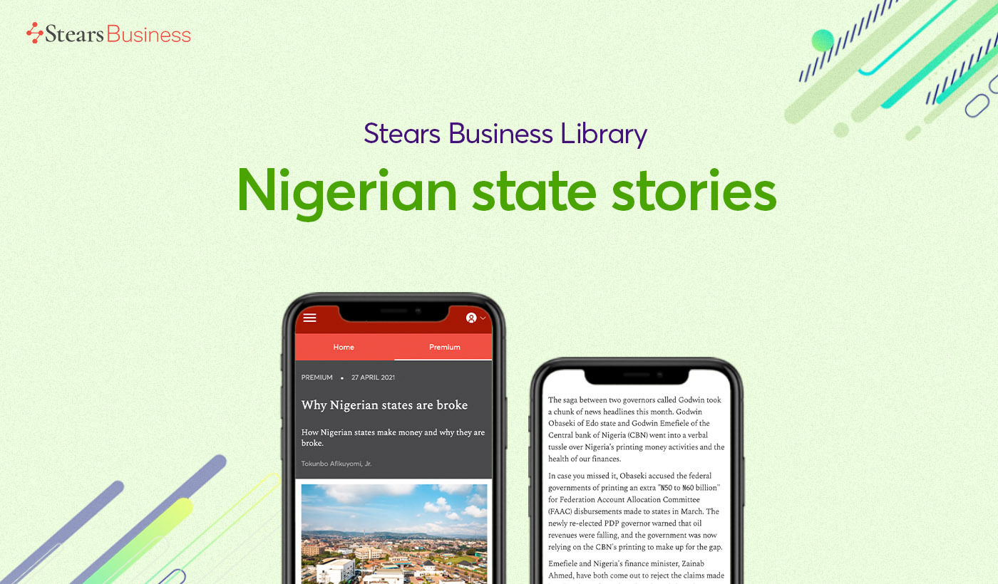 Top State articles on Stears Business