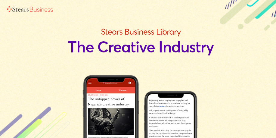 Top creative industry articles on Stears Business