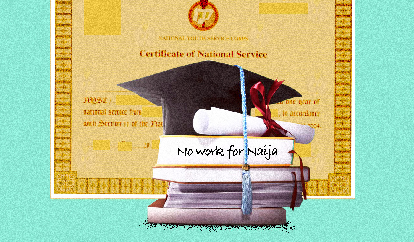 There are no jobs in Nigeria