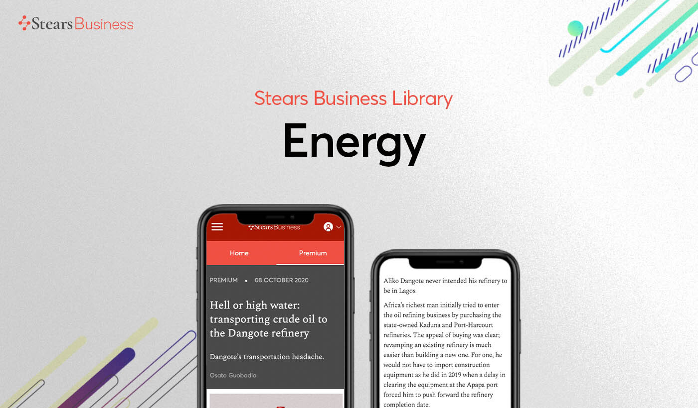 Top energy articles on Stears Business