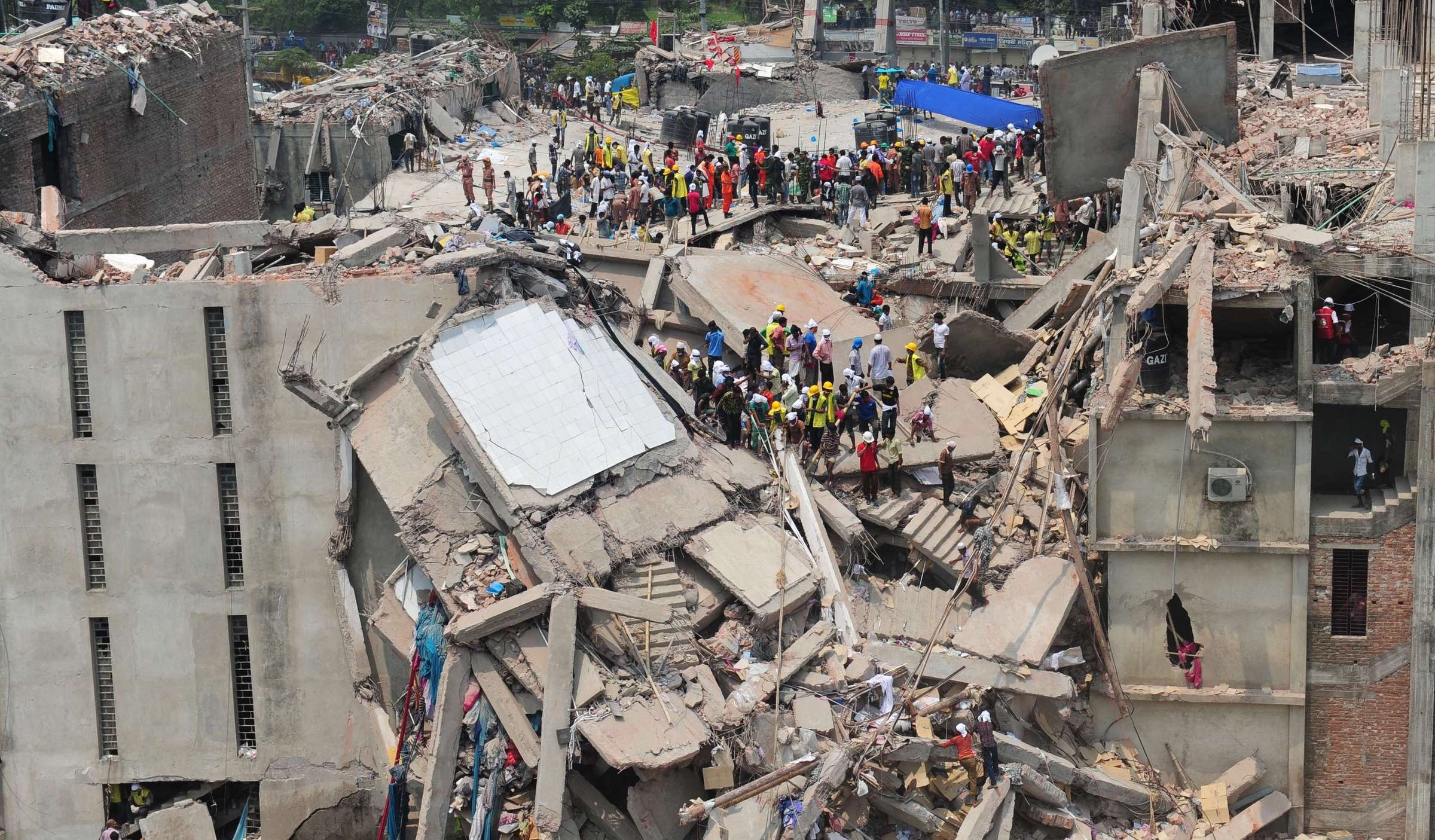 FW: Public agitation as Port Harcourt storey building collapses