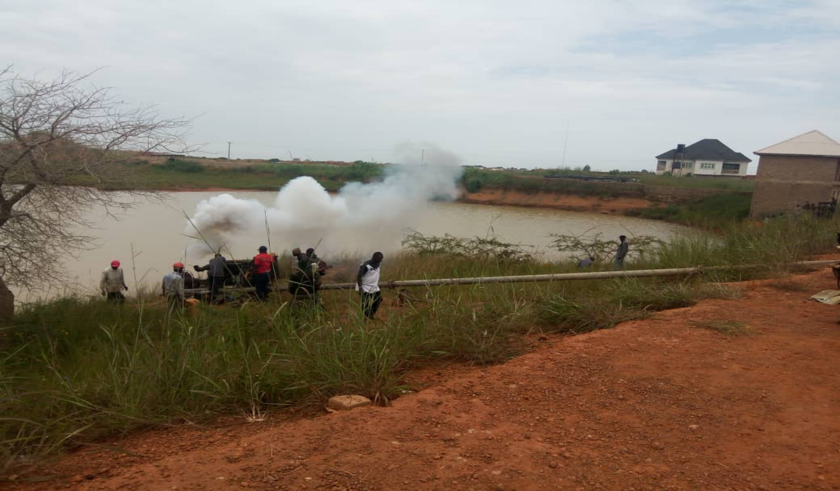 FW: Nigerian army discovers mystery pond in Jos