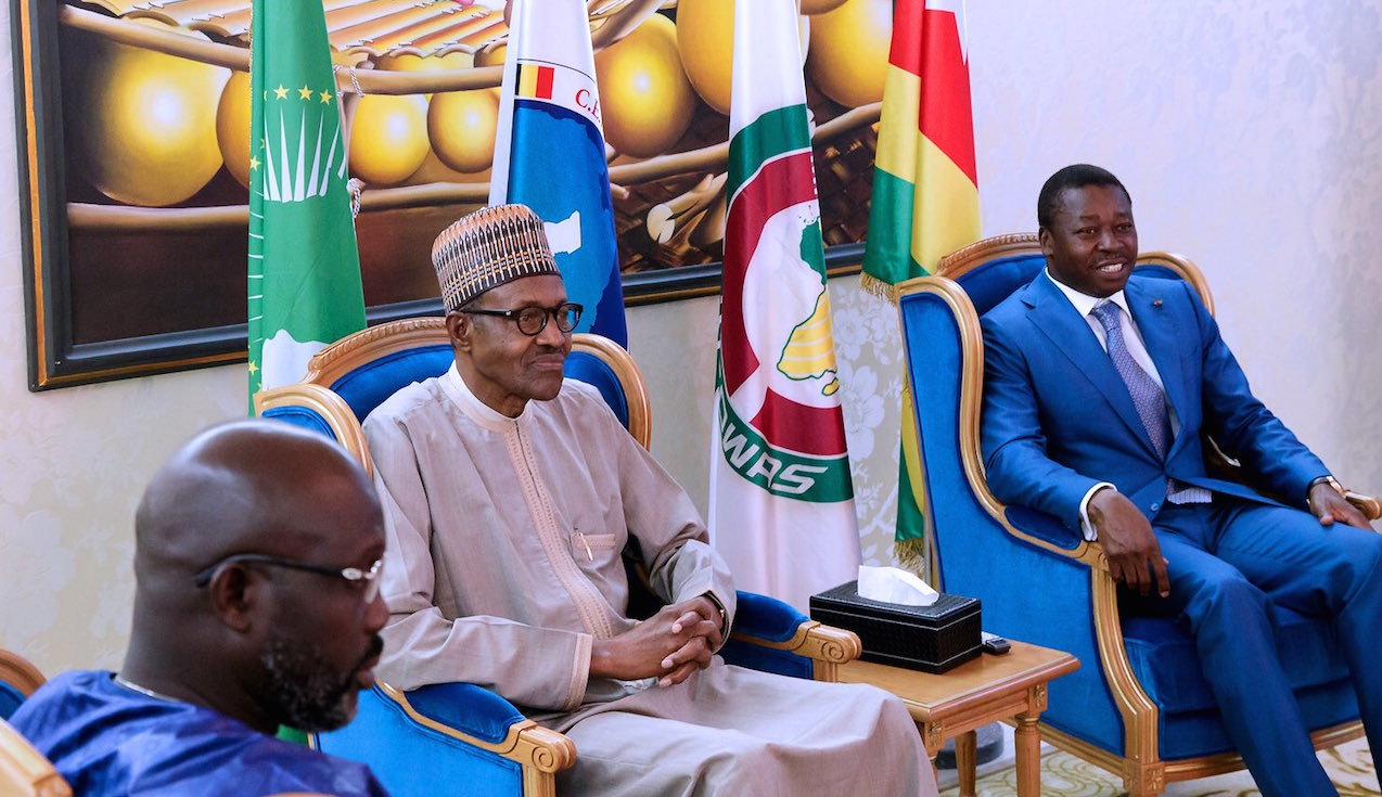 FW: Why is Buhari in Togo?